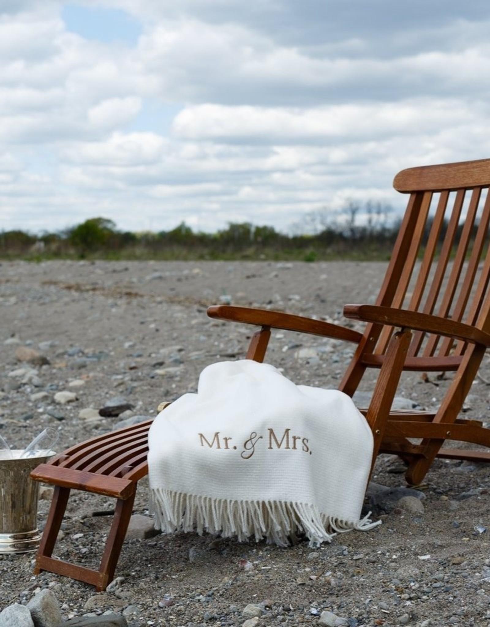 A Soft Idea Cotton Throw Cream