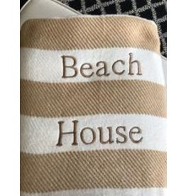 A Soft Idea Candy Stripe Throw Stone