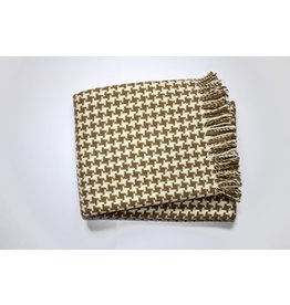 Houndstooth Throw Stone
