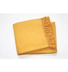 A Soft Idea Cotton Throw Gold