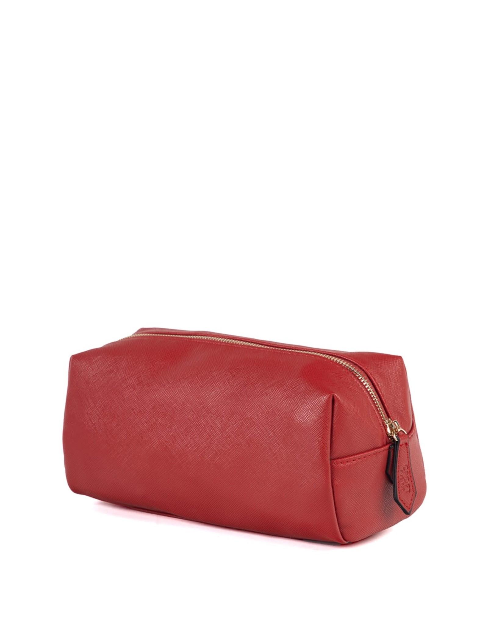 Brouk & Co Alexa Toiletry Bag Red