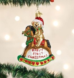 Ornament Baby's 1st Rocking Horse