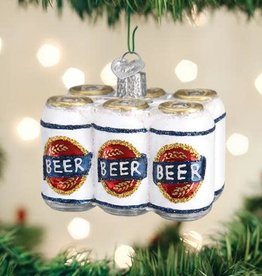 Ornament Six Pack of Beer