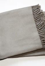 Cotton Throw Light Grey