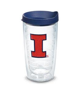 Tervis Tumbler 16oz/lid Illinois