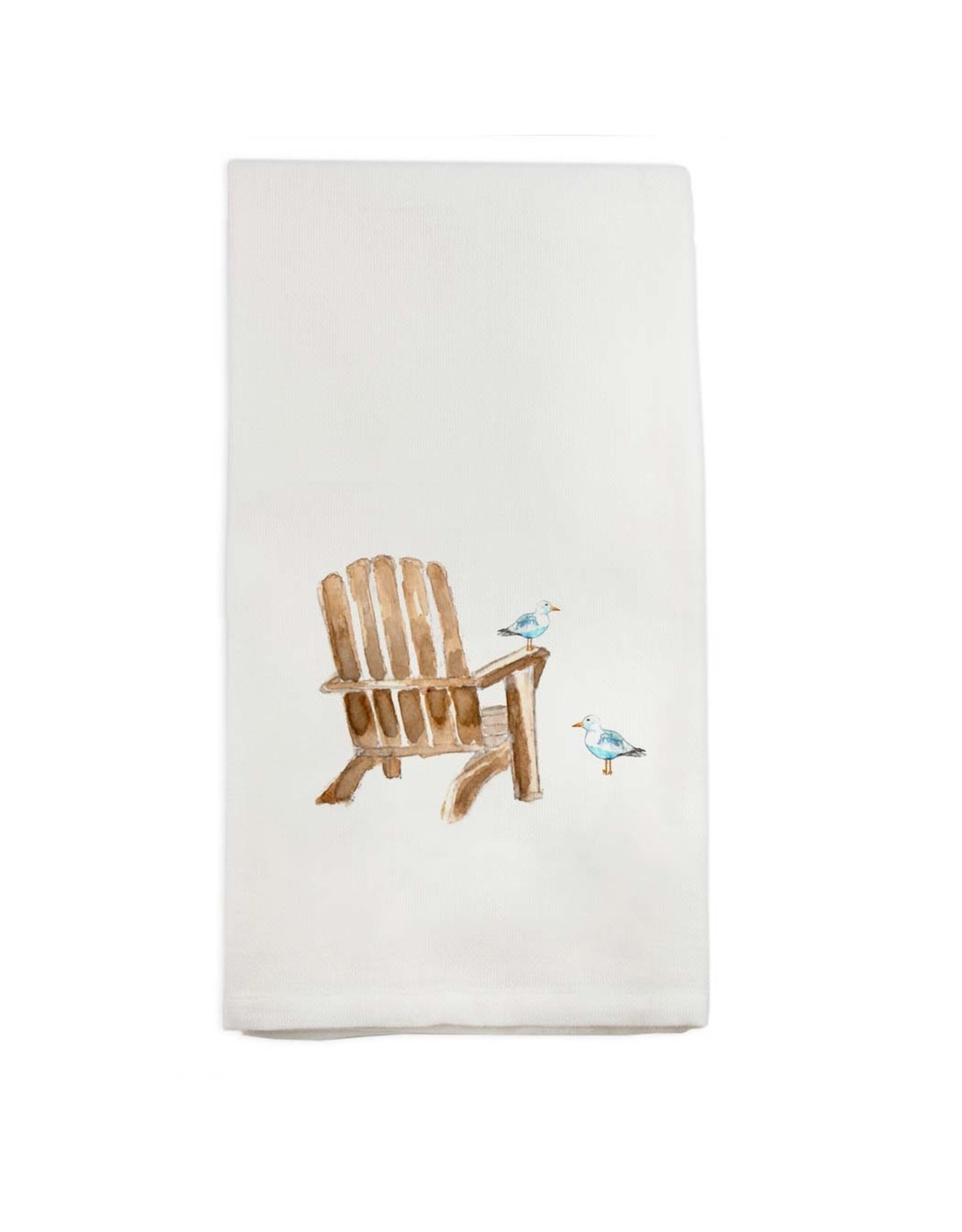 French Graffiti Beach Chair Towel