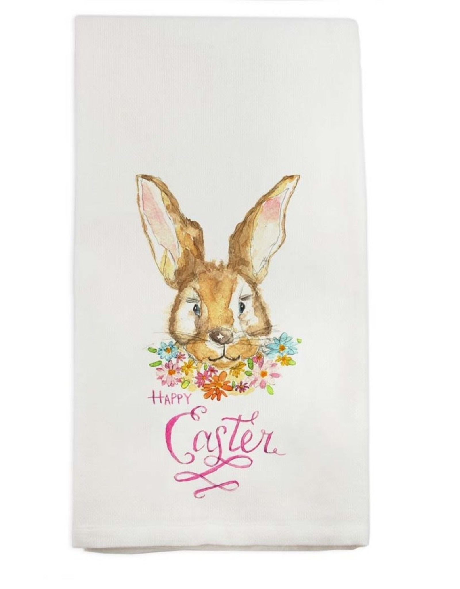French Graffiti Easter Bunny Towel