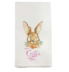 French Graffiti Bunny Towel