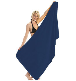 Terry Town Navy Beach Towel