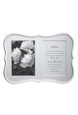Kate Spade Crown Silver Double Invitation Frame