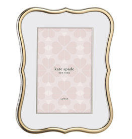Kate Spade Crown gold frame 4x6