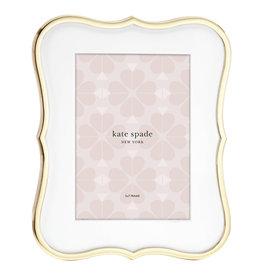 Kate Spade Crown gold frame 5x7
