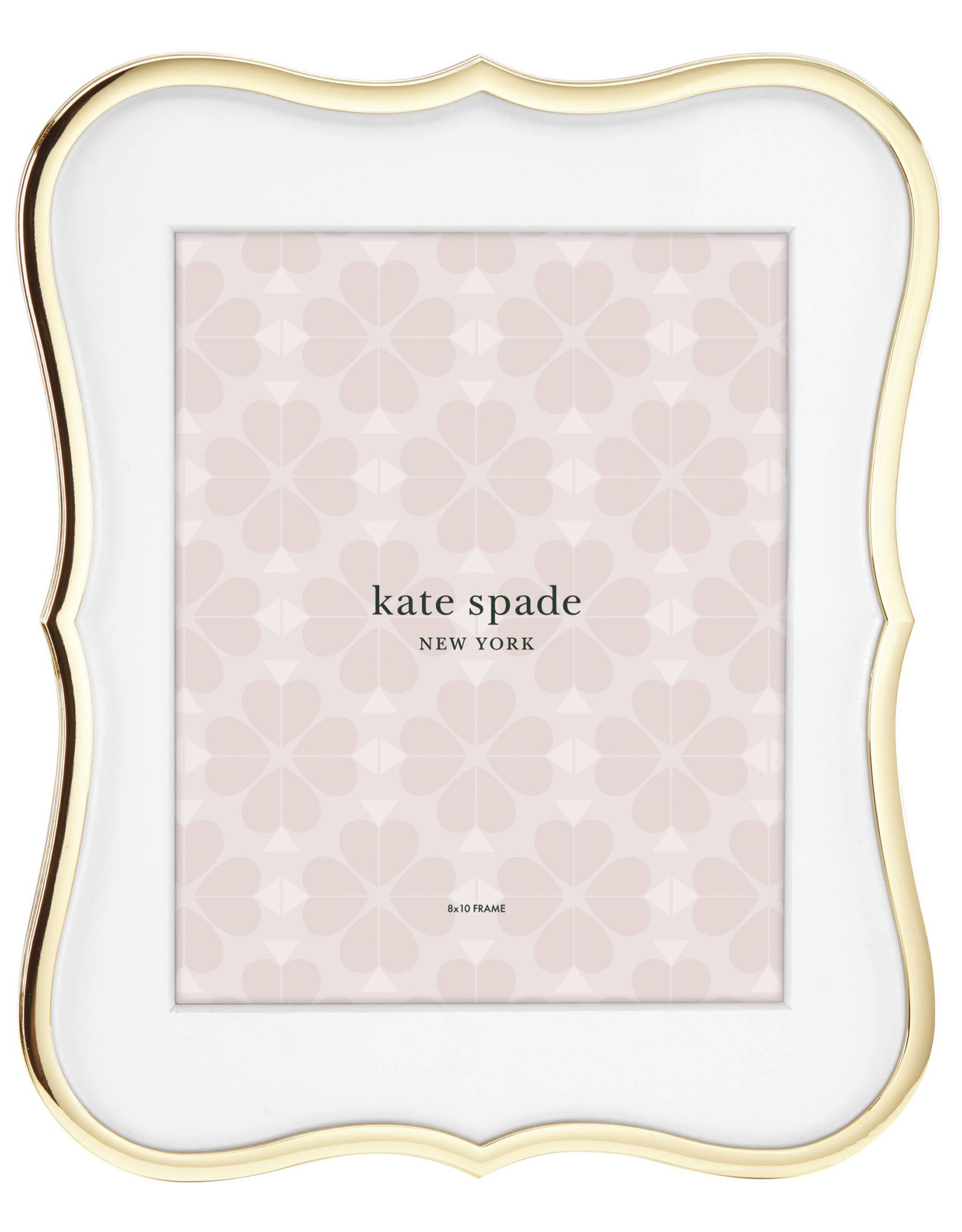 Kate Spade Crown gold frame 8x10