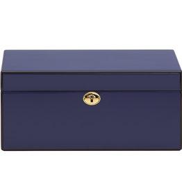Reed & Barton Navy Jewelry Box