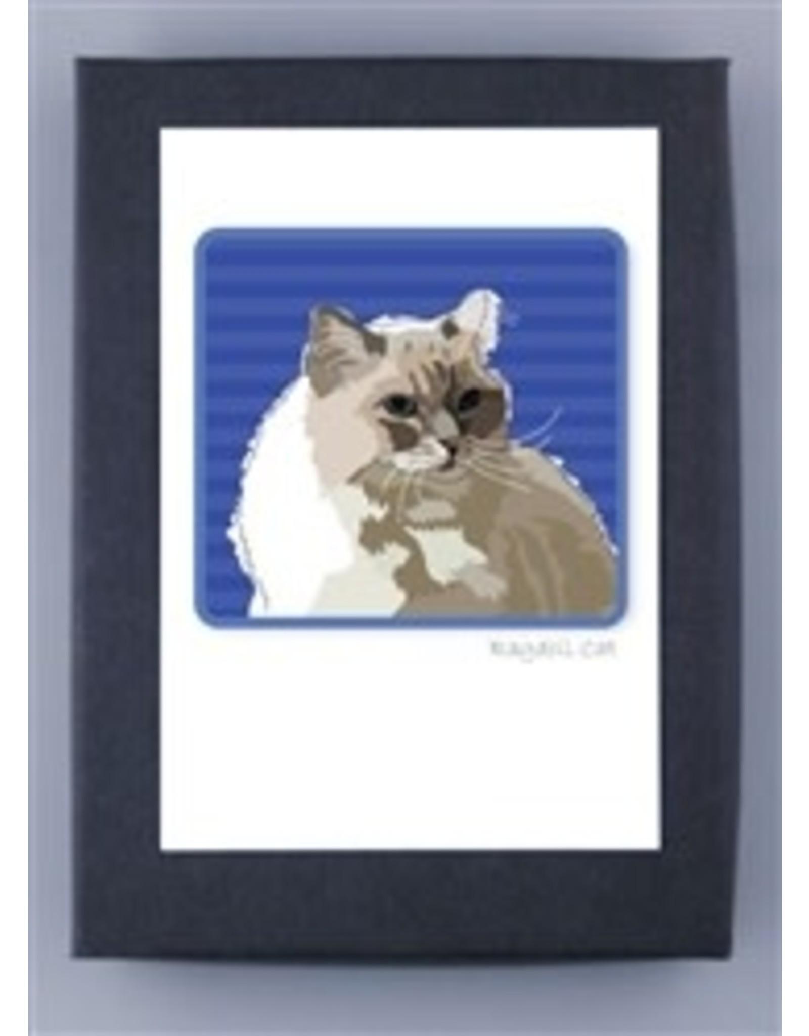 Paper Russells Cat Ragdoll