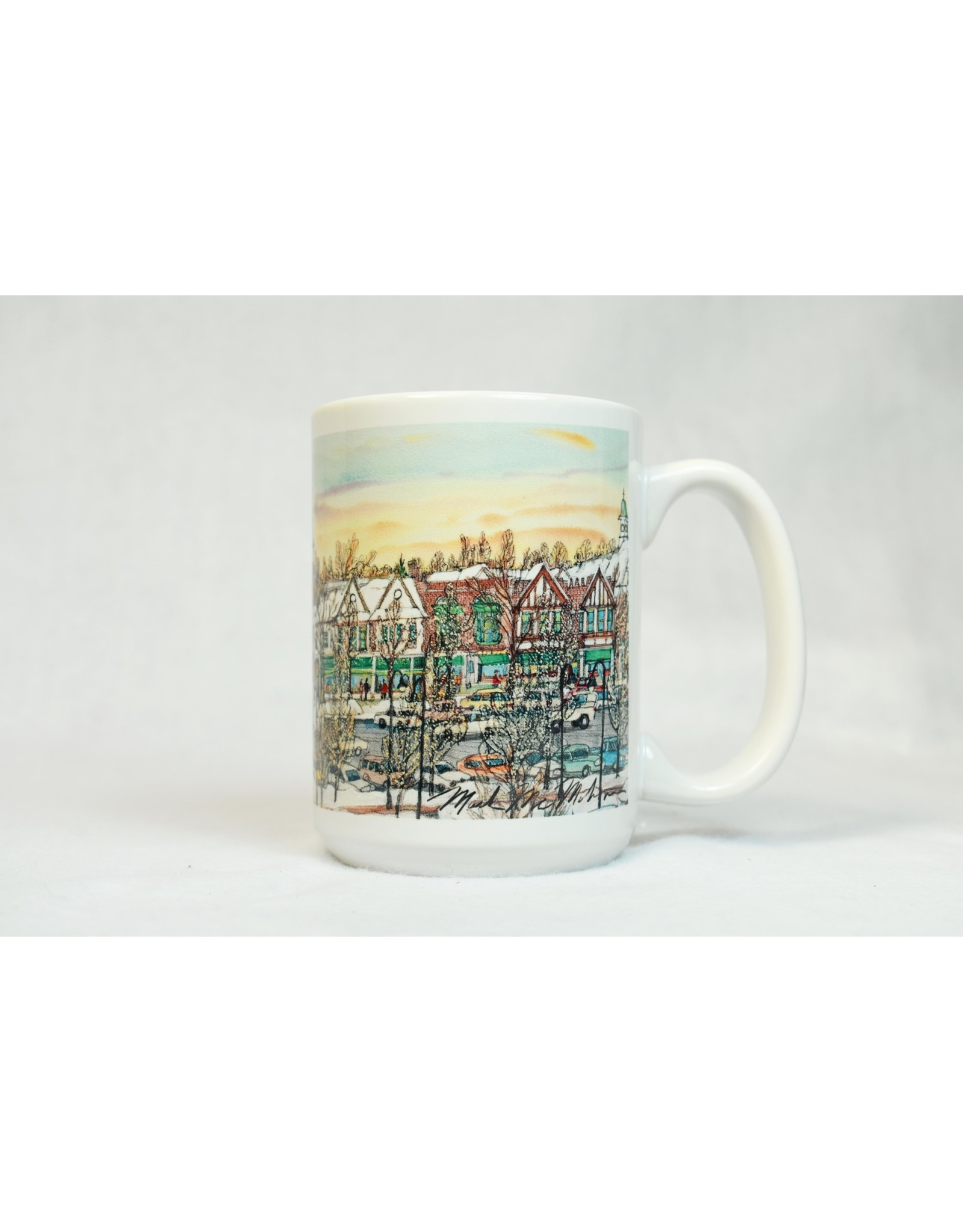 Lake Forest in Winter Mug
