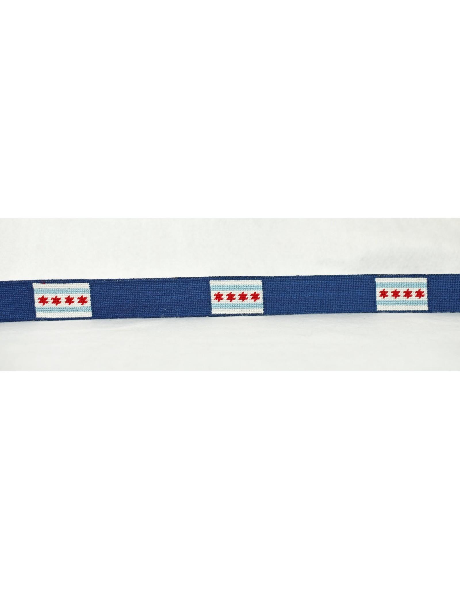Smather's & Branson Belt Chicago Flag