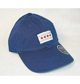 Smather's & Branson Hat Chicago Flag on Navy