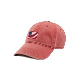 Smather's & Branson Hat American Flag Nantucket Red