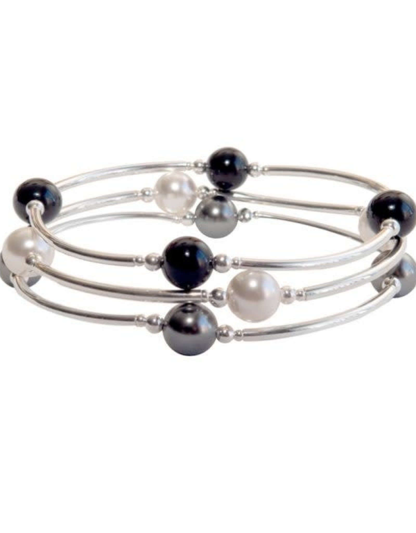 Made As Intended 8mm White Pearl Blessing Bracelet