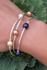 Made As Intended 8mm Gold Pearl Blessing Bracelet