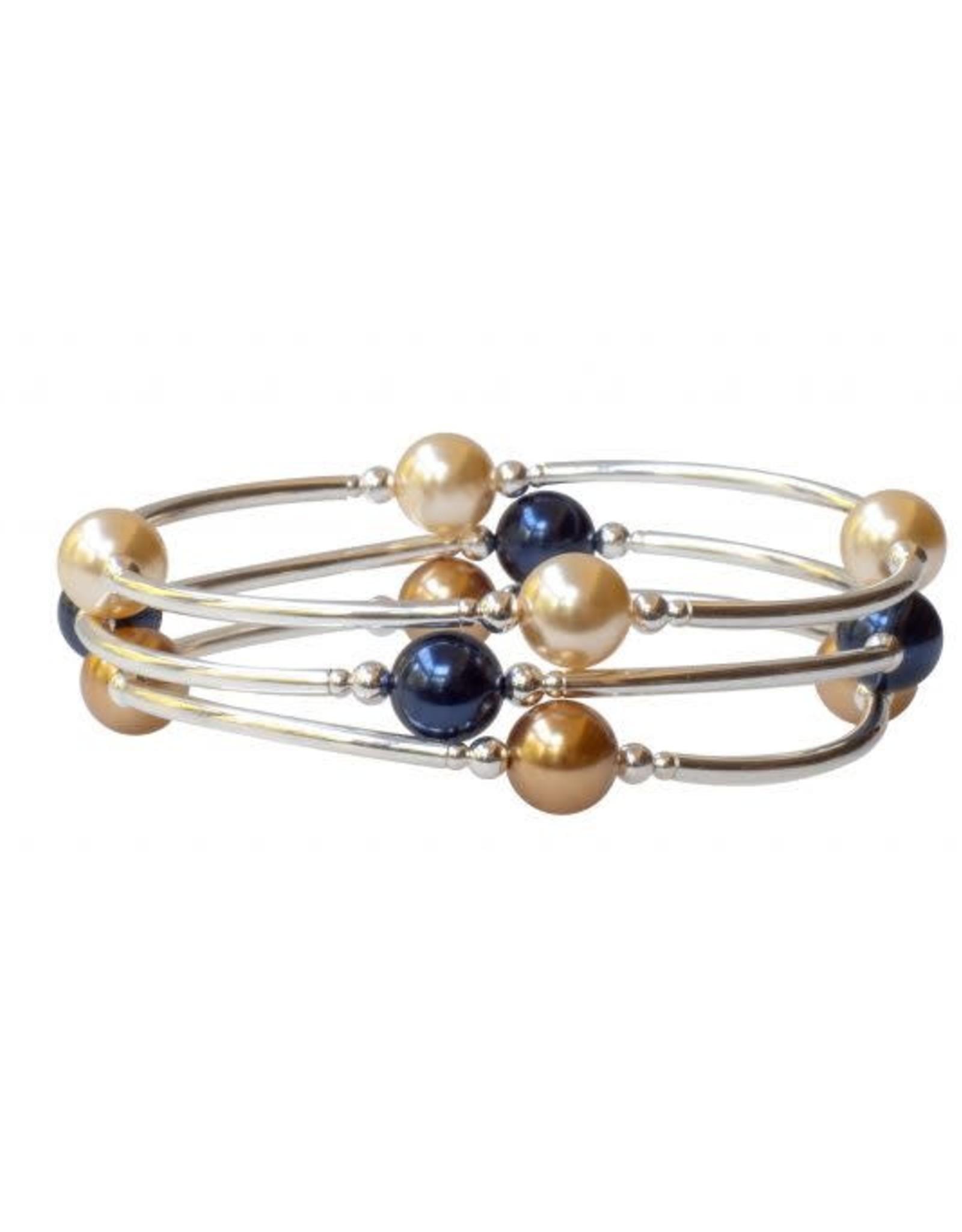 Made As Intended 8mm Light Gold Pearl Blessing Bracelet