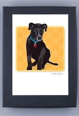 Paper Russells Black Lab Cards