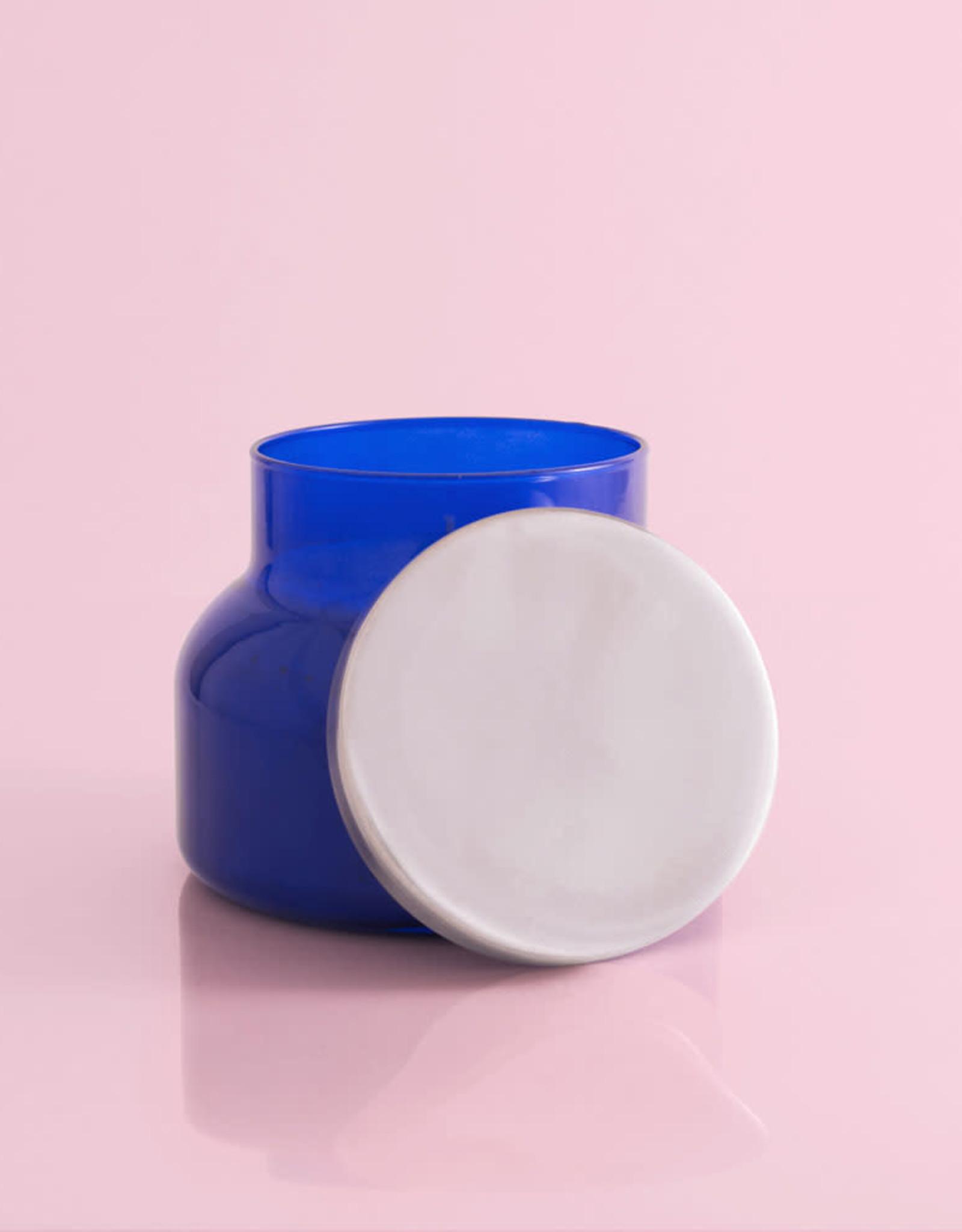 Capri Blue Blue Jean Signature Jar Candle blue