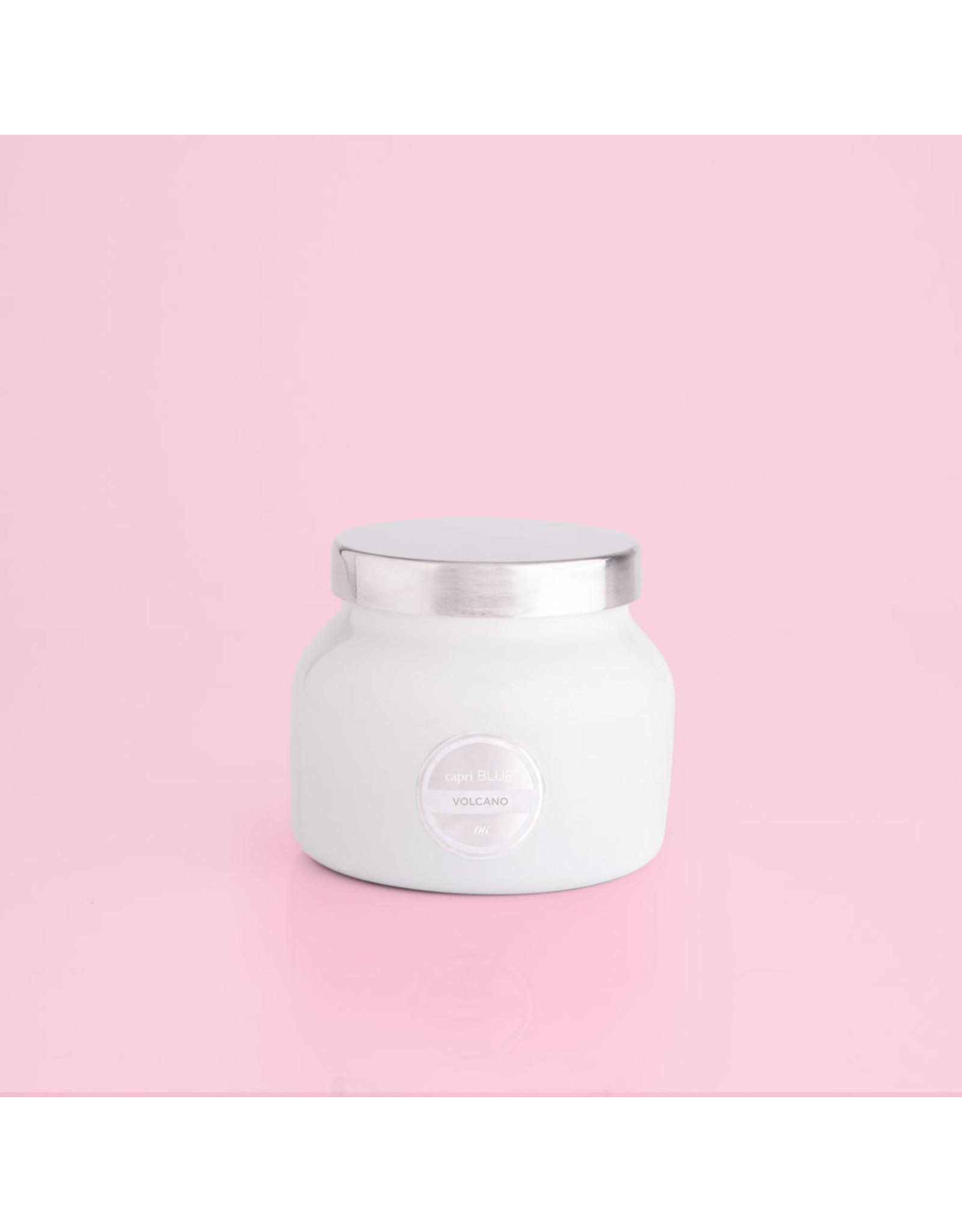 Capri Blue Volcano White Petite Jar Candle