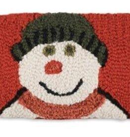 Snow Family Pillow 8x24