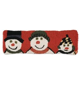 Snow Family Pillow 8x24