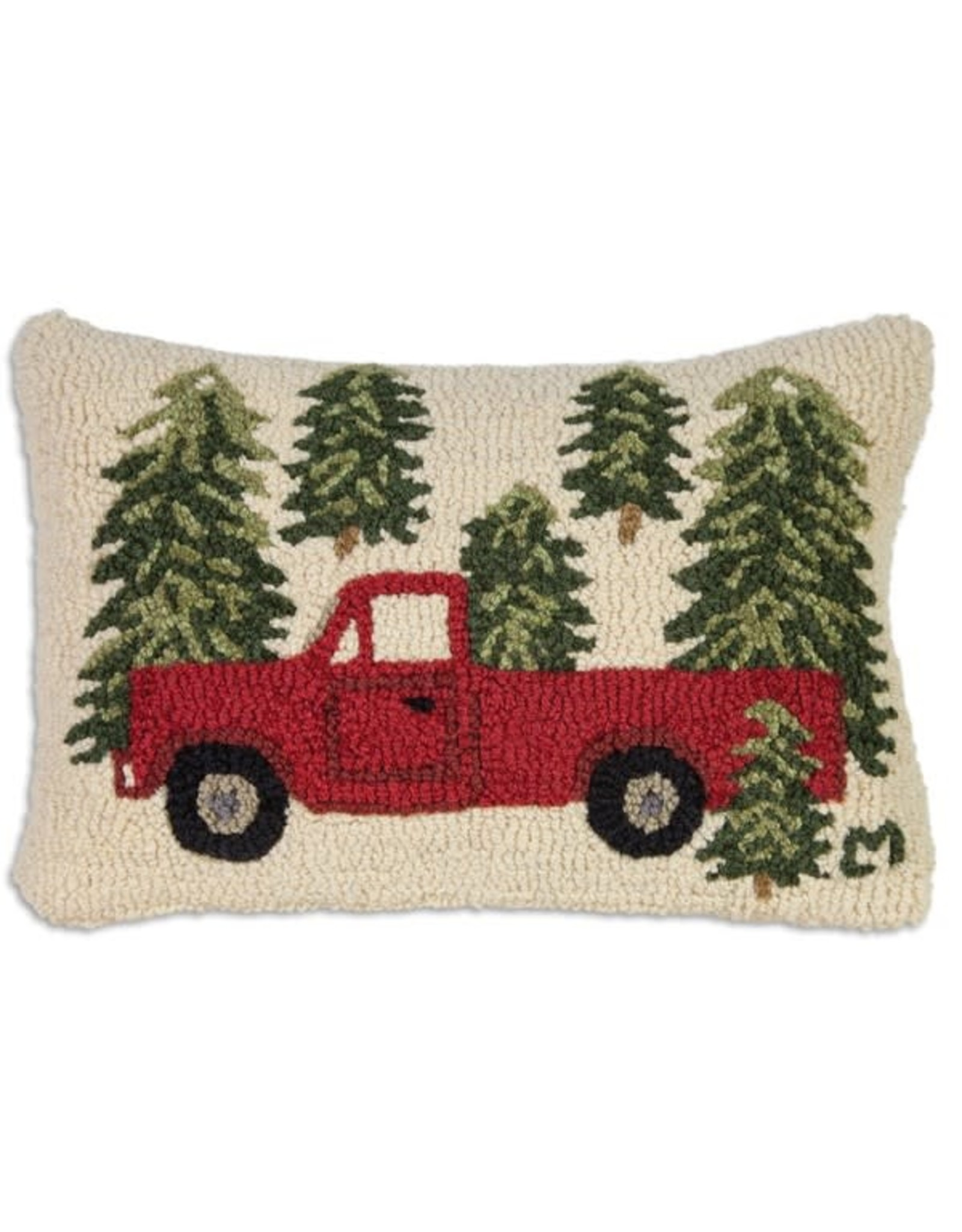 Pillow Tree Truck 14x20