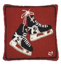 Hockey Skates Pillow 18x18