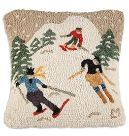 Schuss Downhill Pillow 18x18