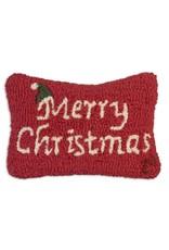 Merry Christmas Pillow 8x12