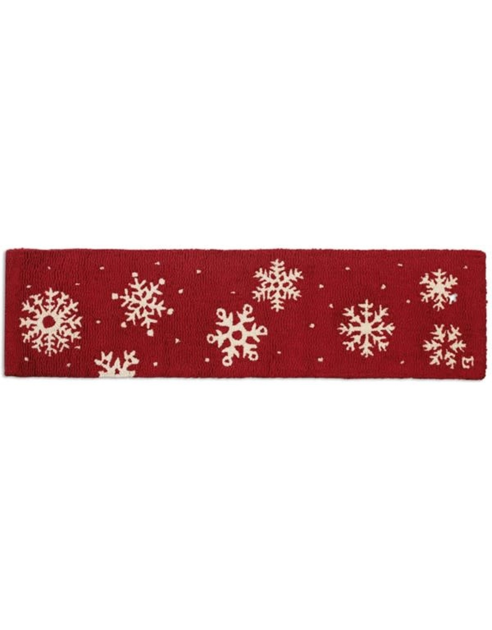 Frosty Flakes Hearth Rug 1'x4'