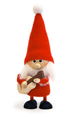 Nordic Dreams Standing Guitar Santa