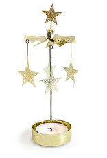 Nordic Dreams Brass Stars Rotary Chime