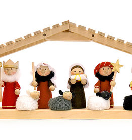 Nordic Dreams Large Nativity Set