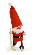 Nordic Dreams Hockey Santa