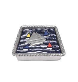 Mariposa Sailboat Napkin Box