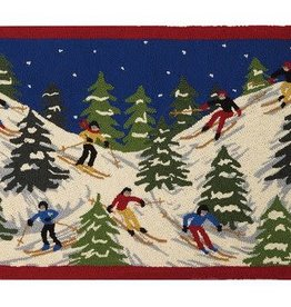 Ski Resort Hook Rug