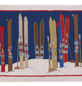 Skis & Poles Rug