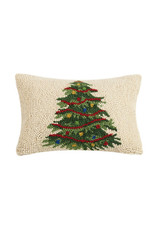 Pillow Hooked Christmas Tree