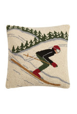 Fast Skier Pillow