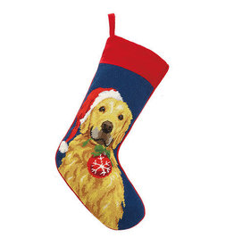 Stocking Golden Retriever w/ornament