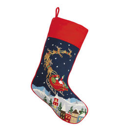Stocking Santa Reindeer
