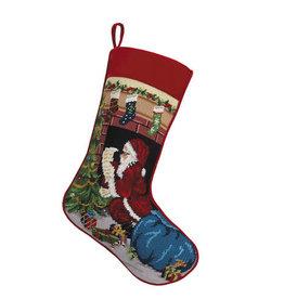 Stocking Santa Chimney