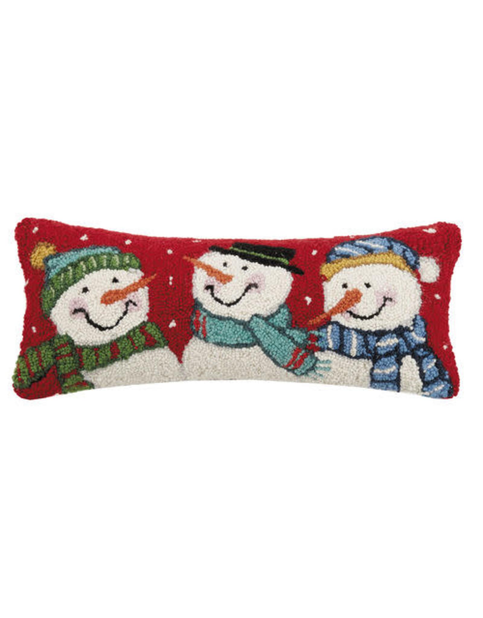 Pillow Snowman Trio