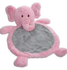 Mary Meyer Toys Pink Elephant Baby Mat